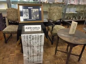 堀川小学校天皇陛下来校記念
