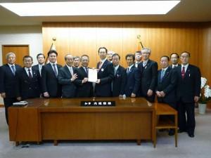 福島県知事室訪問